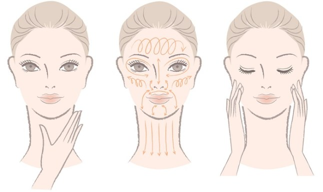 face-massage-illustration