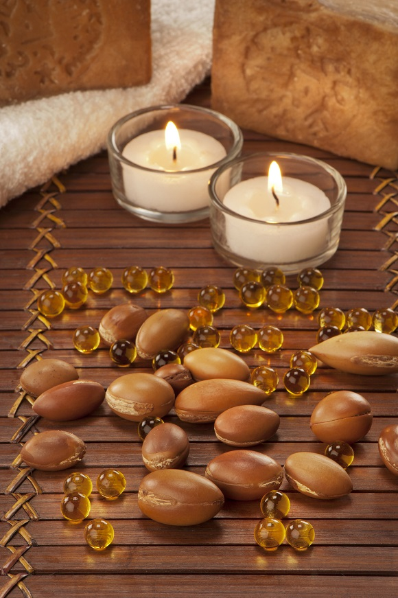bigstock-Seeds-Of-Argan-With-Light-And-42967048