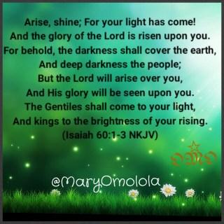 Isaiah 60:1-3