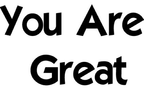 You Are Great OMOSEBI Mary Omolola PhD