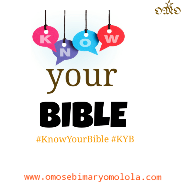 know-your-bible
