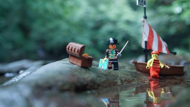 レゴ・海賊のオモ写
