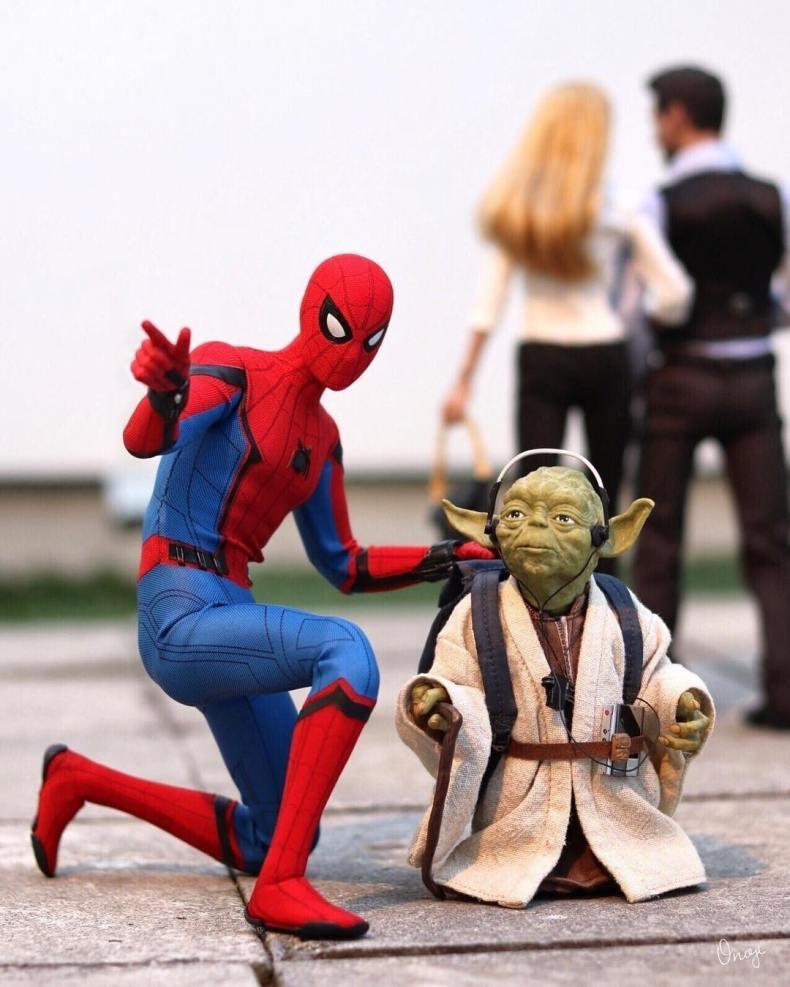 ヨーダとスパイダーマン
