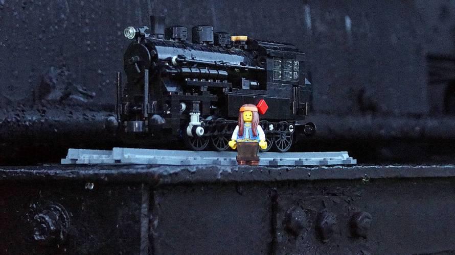 レゴトレインの写真