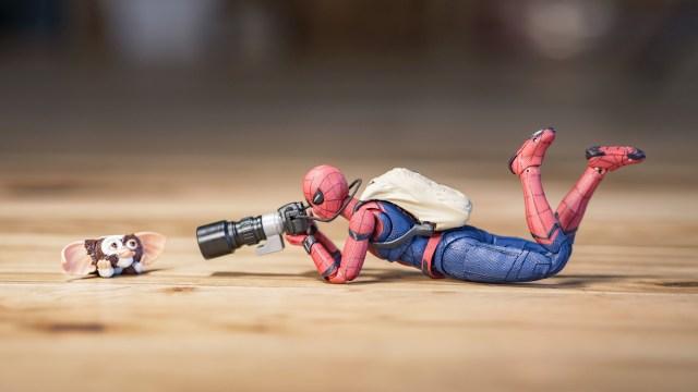 スパイダーマンのオモ写