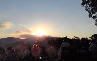 sunrise at the Bonfin