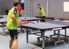Tafeltennisclub Almere United begint sterk aan competitie.