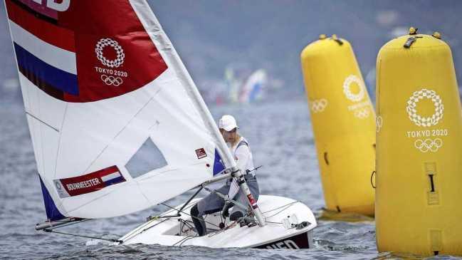 Marit Bouwmeester pakt brons na lastige start
