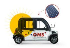 Crédito para programas de eficiência energética em Curitiba: imagem do Carro Movido a Sol da OMS