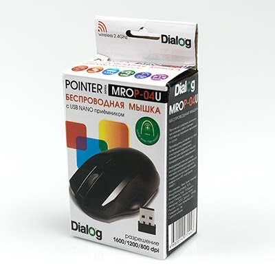 Мышь Dialog MROP-04U Black USB
