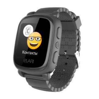 Детские часы с GPS трекером Elari KidPhone 2 Black