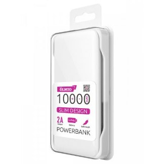 Аккумулятор OLMIO Slim 10000mAh