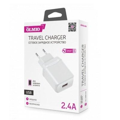 Зарядное Olmio USB 2.4A