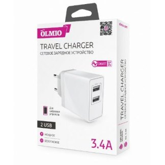 Зарядка USB 3.4 A