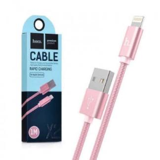 кабель USB Lightning hoco X2 розовый