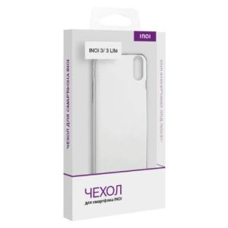 силиконовый чехол Inoi 3 Inoi 3 Lite прозрачный