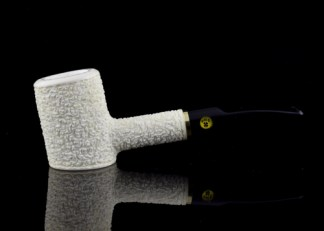 OMS Meerschaum Rusticated Poker