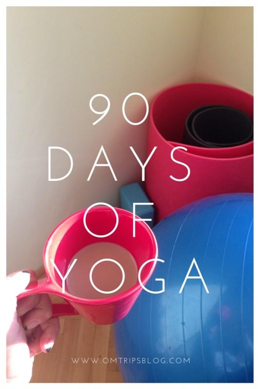 90 days of yoga