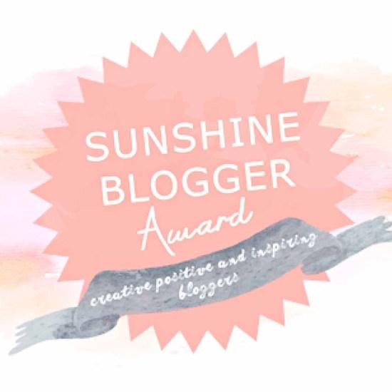 Sunshine Blogger Award, www.omtripsblog.com