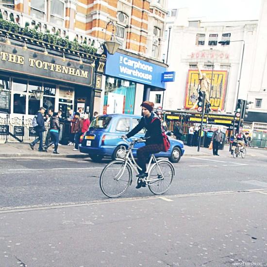 On the streets...London, UK @omtripsblog