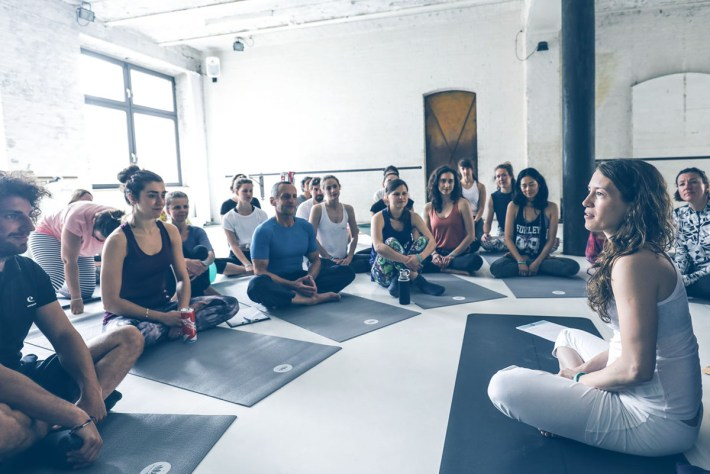 Berlin Yoga Conference Pop Up