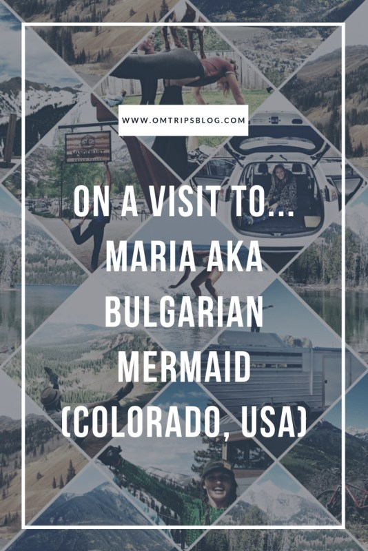 On a visit to...Maria aka @bulgarianmermaid (Colorado, USA)