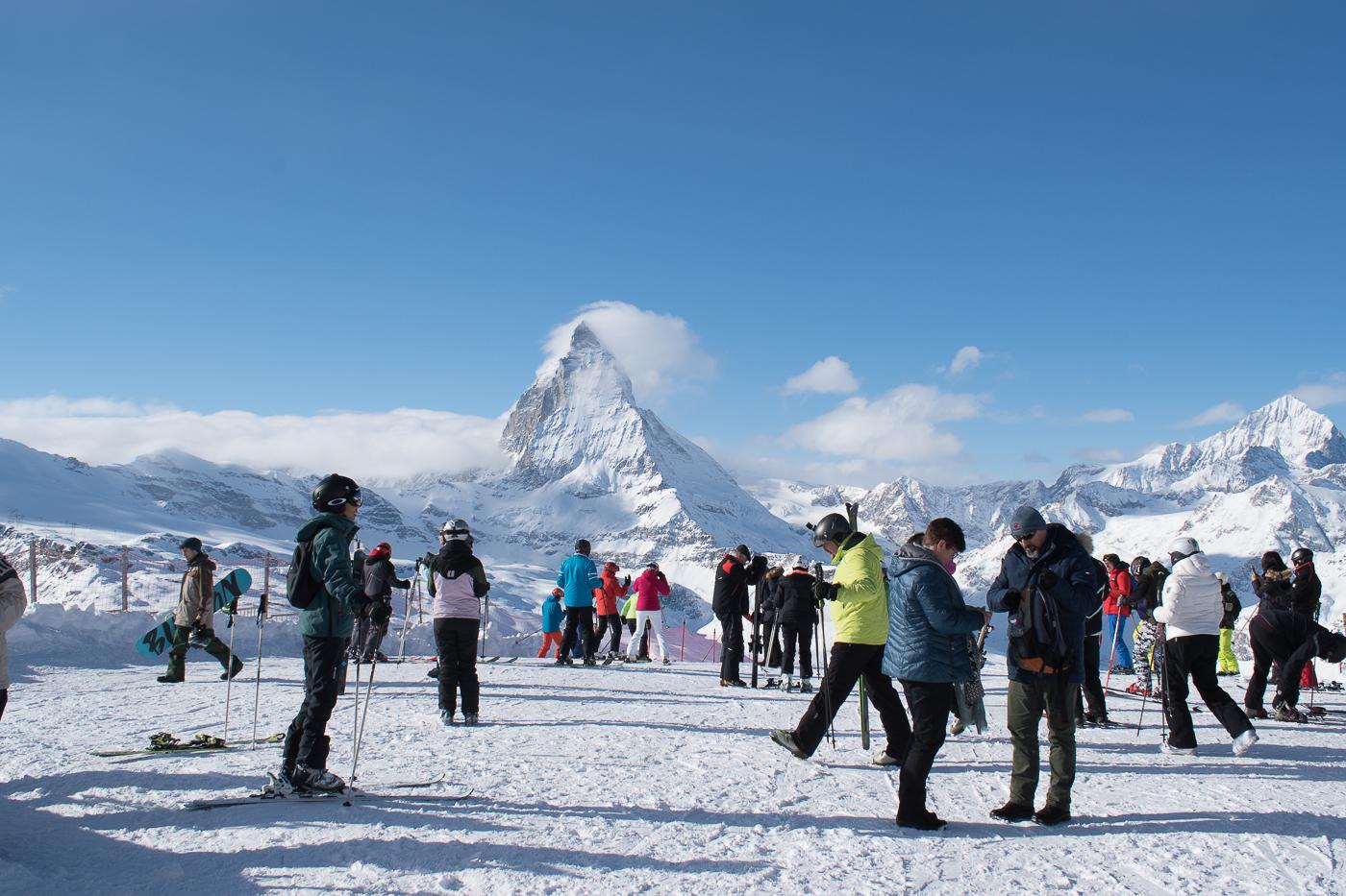 Ski e snowboard em Zermatt