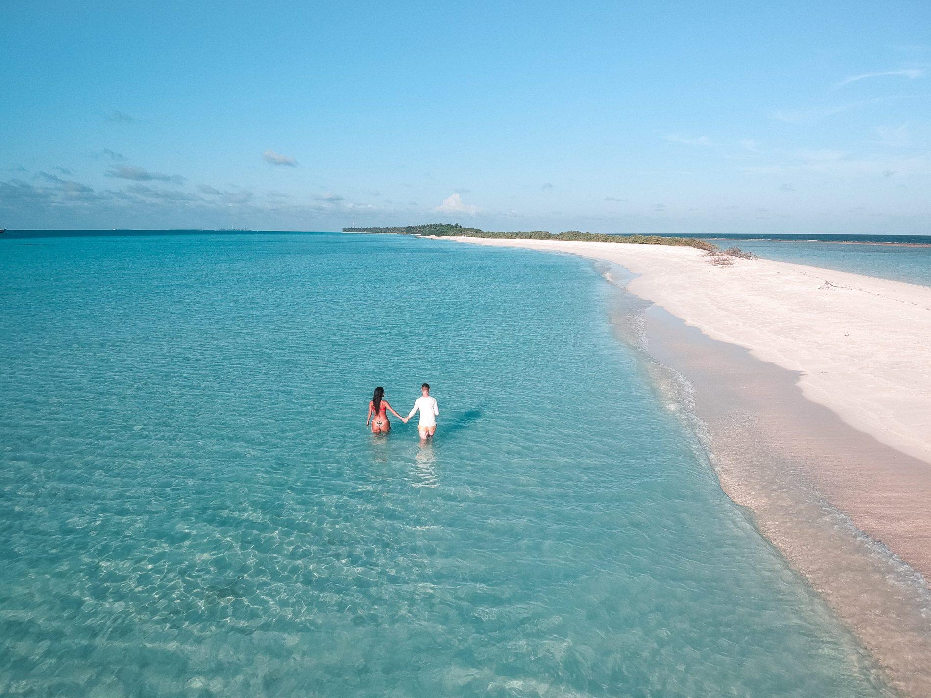 Lua de me barata nas Maldivas