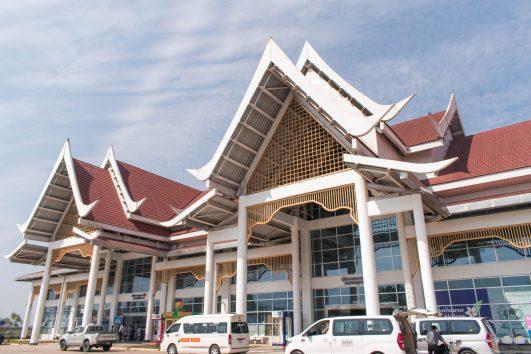 Como chegar em Luang Prabang no  Laos