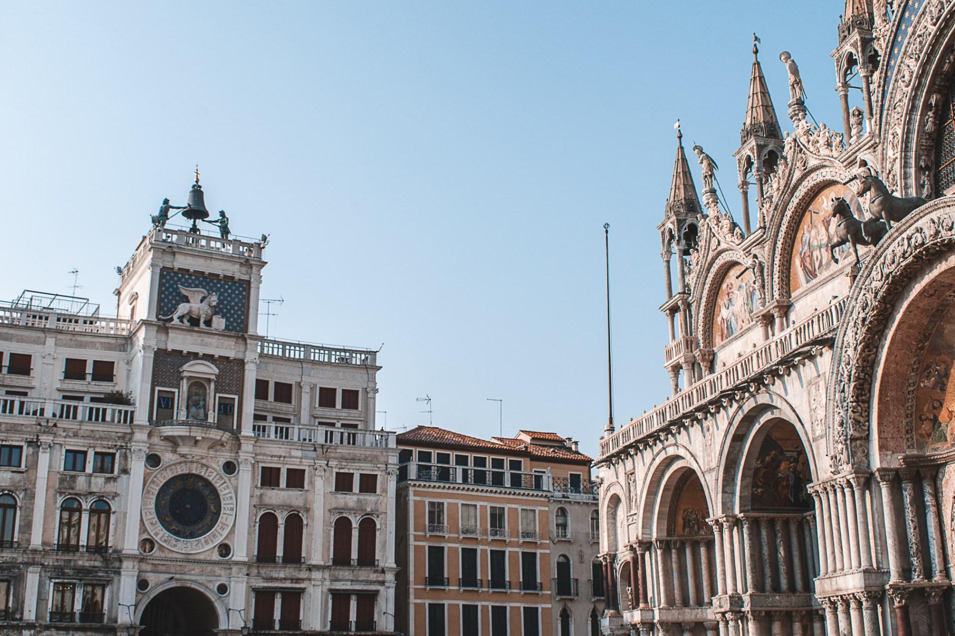 Atrações em Veneza