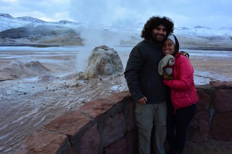 Geisers el Tatio, Atacama
