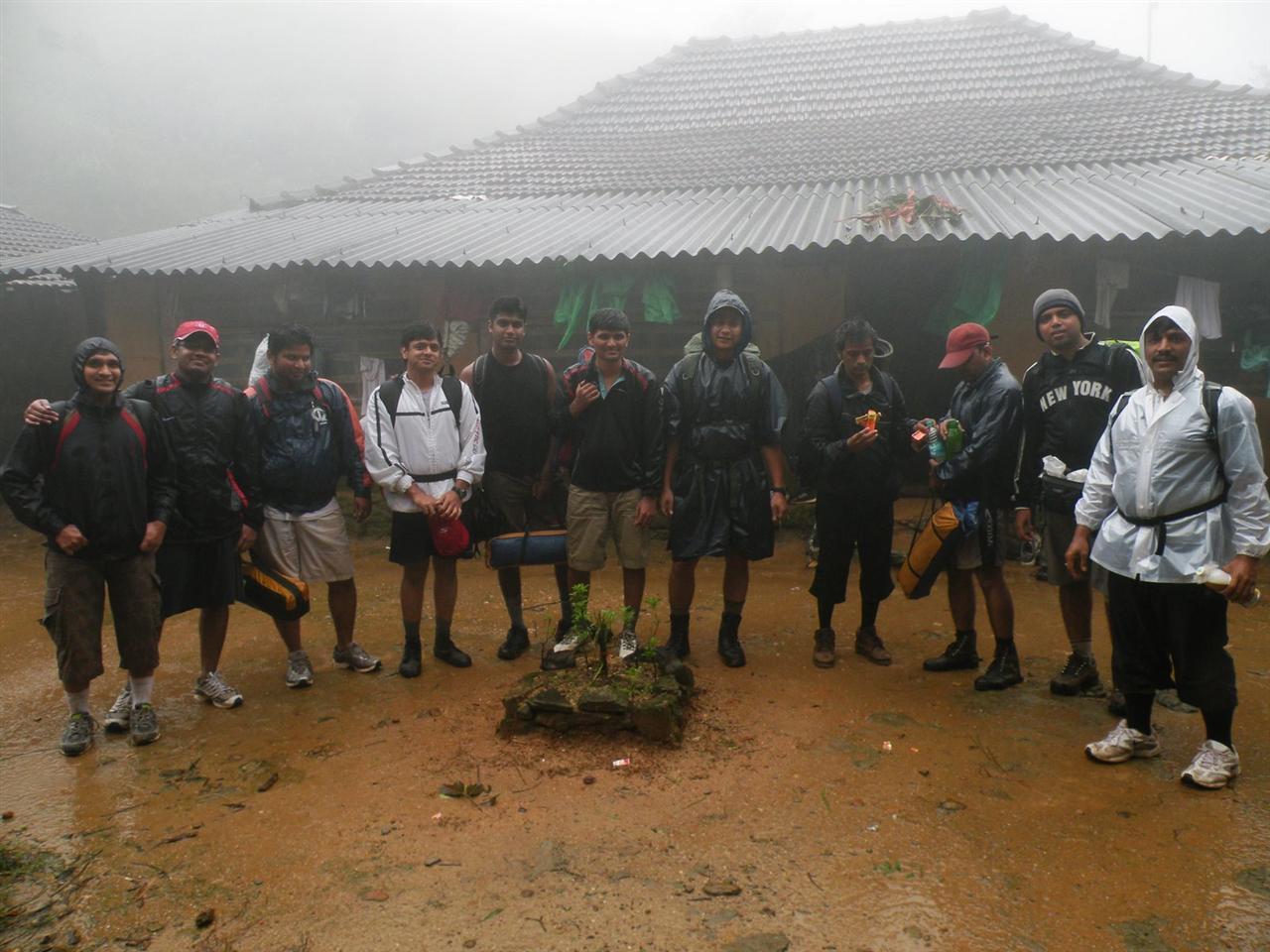 Bhatta's House: Mid way base camp