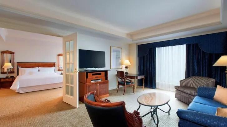 ウェスティンホテル東京 デラックススイート