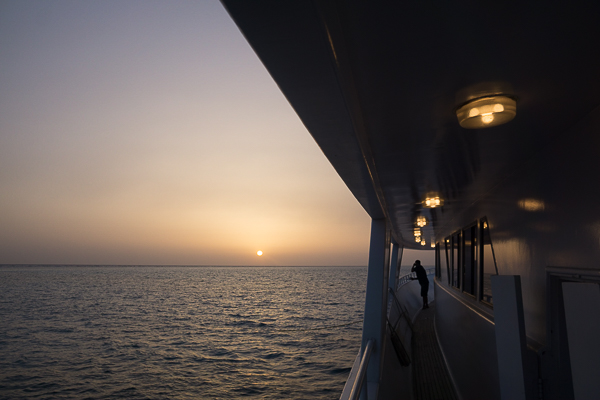 Leben auf dem Tauchboot