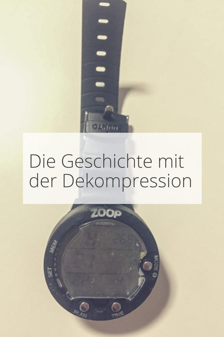 Dekompression beim Tauchen