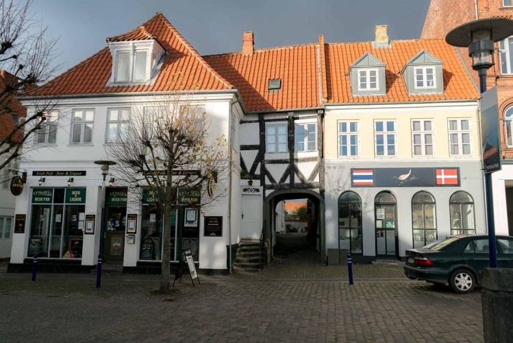 Das Geburtshaus meiner Mutter in der Østergade 13