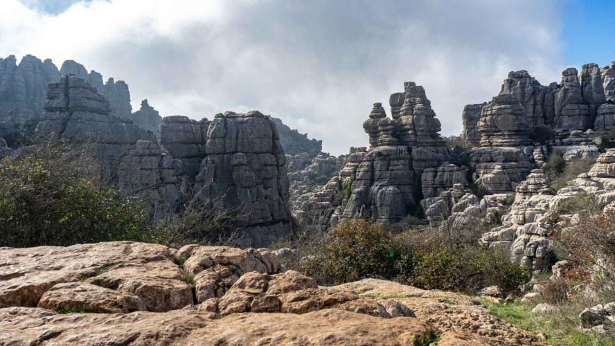 Karstgesteinformationen in El Torcal