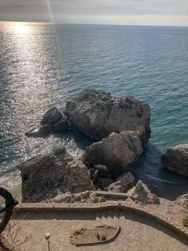 Blick auf das Mittelmeer in Nerja