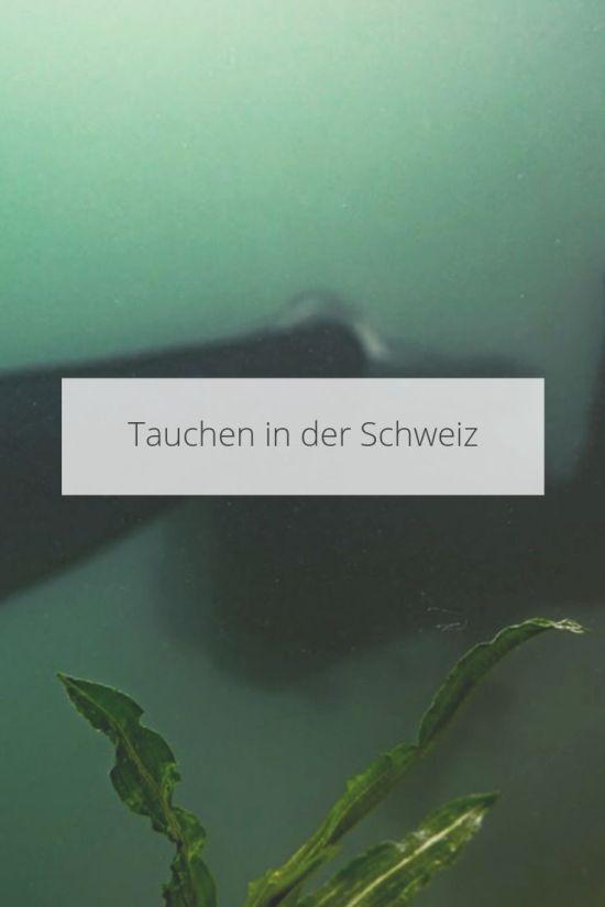 Tauchen Schweiz
