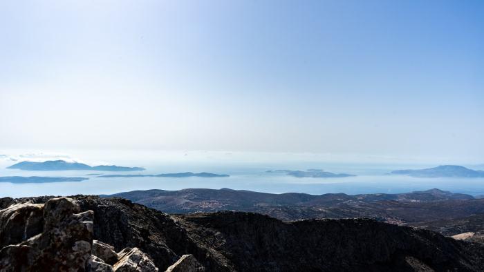 Aussicht Mount Zas