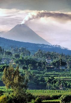 volcán-Arjuna-Java