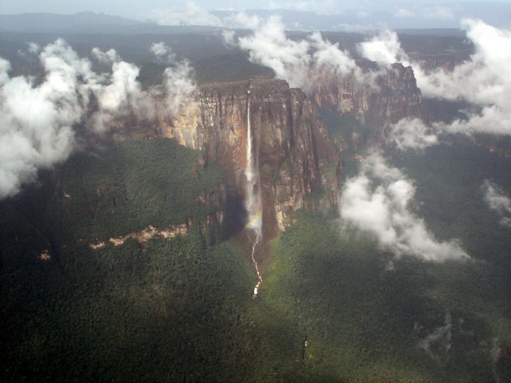 Salto del Angel en Venezuela