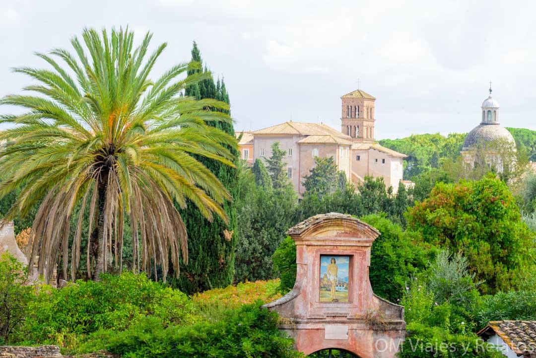 Los-Foros-Romanos-y-Palatino-en-Roma-Vistas