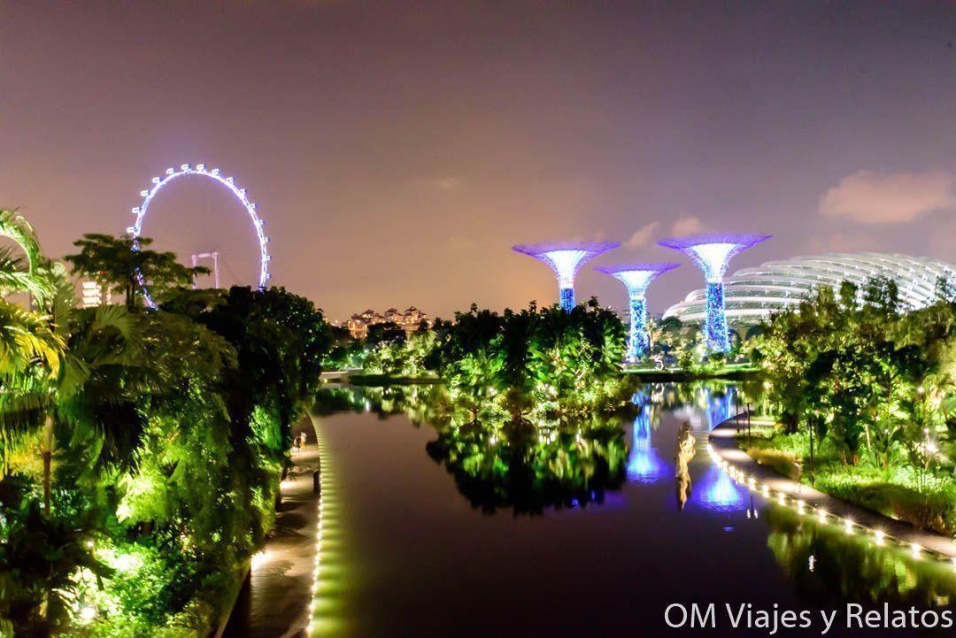los jardines de Singapur
