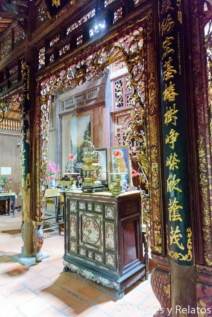 casa colonial de Ba Kiet Mekong Vietnam