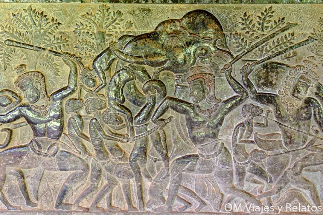 Angkor Wat: Grabados