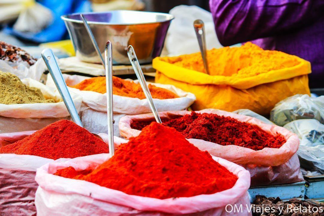 especias-India