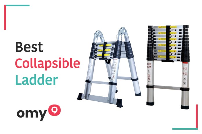 10 Best collapsible ladder