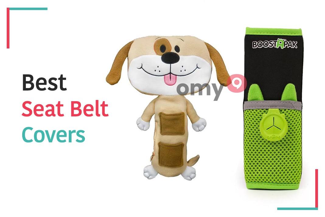 nylon Seatbelt Pads For Car Soft Comfort Helps Protect You Neck and Shoulder Black Car Seat Belt Cover Sponge
