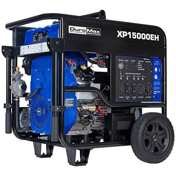 DuroMax Electric Start Portable Generator